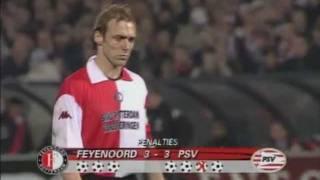 Download Feyenoord - PSV 1-1 (5-4 np, UEFA Cup 01/02) Video