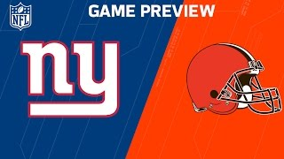 Download Giants vs. Browns (Week 12 Preview) | NFL Now Video