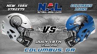 Download New York Streets vs Columbus Lions Video