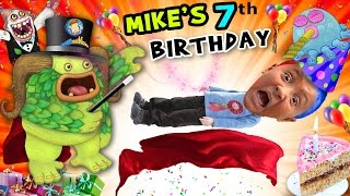 Download Mike's 7th Birthday! A Magically Monsterific Party Celebration! (FUNnel Vision B-Day Vlog) Video