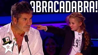 Download Real Life Hermione Granger Puts A Spell on Simon Cowell | Magicians Got Talent Video