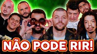 Download NÃO PODE RIR! com Victor Sarro, Luiz França, João Valio e Santiago Mello Video