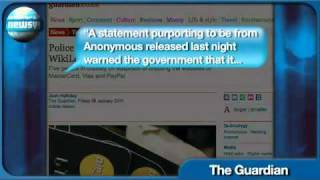 Download UK POLICE ARREST 5 ANONYMOUS HACKERS! PSN down APRIL/May 2011 ERROR CODE 80710A06 Video