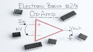 Download Electronic Basics #21: OpAmp (Operational Amplifier) Video