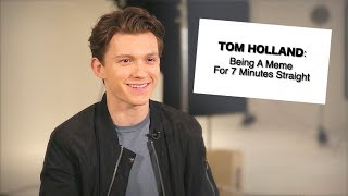 Download Tom Holland Being a Meme For 7 Minutes Straight Video