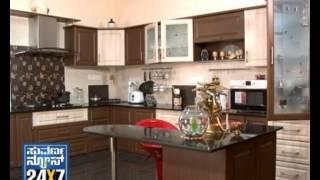 Download Seg 1 - Aaha Aduge Mane: Kitchen Interior Design Ideas -11 Nov 12 - Suvarna News Video