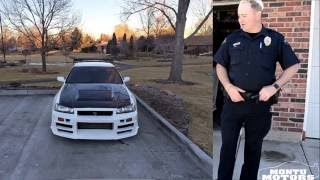 Download Officer Matt Talks About his Nissan Skyline GTR in Denver Video