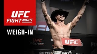 Download UFC Fight Night Gdansk: Official Weigh-in Video