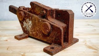 Download Rusty Jammed Rebar Cutter - Restoration Video