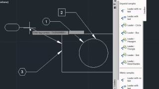 Download AutoCAD Classes Leader Shape with ToolPalletes Video