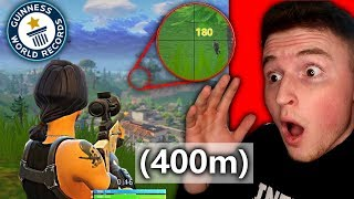Download LONGEST SNIPE IN THE HISTORY OF FORTNITE! (Unbelievable) Video