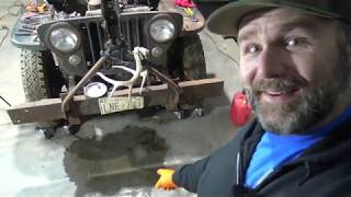 Download Willys Jeep Rescue: Wholly Smokes!! SHE RUNS!! Grumpy old Jeep Gets a Name! Video