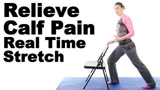 Download Relieve Calf Pain with This Real Time Calf Stretch - Ask Doctor Jo Video