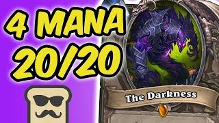 Download THE DARKNESS: 4 MANA 20/20?! | KOBOLDS AND CATACOMBS | HEARTHSTONE | DISGUISED TOAST Video
