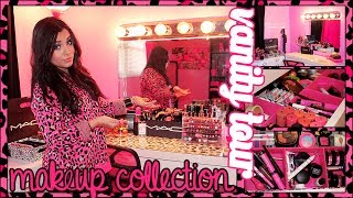 Download ♥ VANITY TOUR & Makeup collection (Updated) 2014 | Juicydaily ♥ Video
