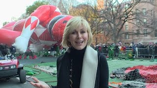 Download Balloons are Blown Up for Macy's Thanksgiving Day Parade | ABC News Video