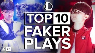 Download The Top 10 Faker Plays in Competitive League of Legends Video