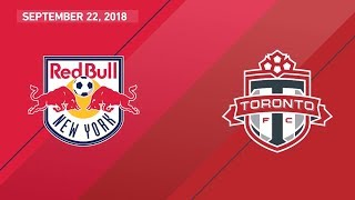 Download HIGHLIGHTS: New York Red Bulls vs. Toronto FC | September 22, 2018 Video
