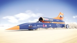 Download Fly through the 1,000mph BLOODHOUND Supersonic Car Video