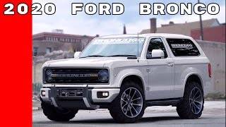 Download 2020 Ford Bronco Announcement At Detroit Auto Show NAIAS 2017 Video
