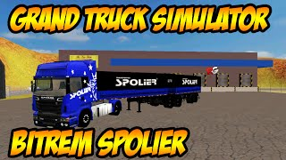 Download Grand Truck Simulator - Scania R580 - Bitrem Spolier Video