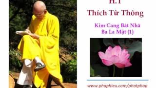 Download H.T Thích Từ Thông - Kim Cang Bát Nhã Ba La Mật (1) Video