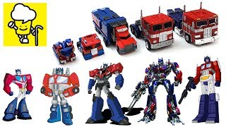 Download Different Optimus Prime Transformer robot truck toys ランスフォーマー 變形金剛 robots in disguise Video