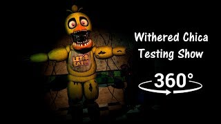 Download 360°| Withered Chica Testing Show 1987 - Five Nights at Freddy's 2 [SFM] (VR Compatible) Video