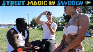 Download Swedish girls reacts to magic 🇸🇪 -Julien Magic Video