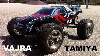 Download Tamiya Vajra 4WD 1/10 Stadium Truck (Part 1): On Road Test Run Video