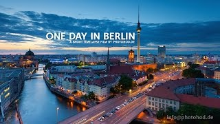 Download One Day in Berlin. Motion Timelapse. Video