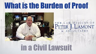 Download Burden of Proof in a Civil Case Video