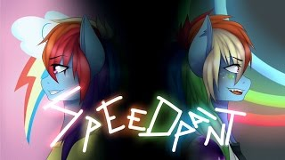 Download (Speedpaint) MLP: Rainbowdash and two sides Video