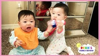 Download Twin Babies Fun Playtime with Ryan's Family Review! Video