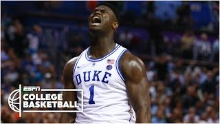 Download Zion Williamson puts on a show in return for Duke vs. Syracuse | College Basketball Highlights Video