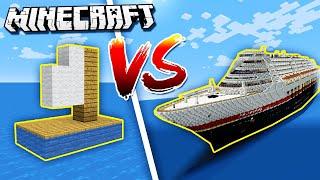 Download Minecraft NOOB vs. PRO: BOAT BATTLE in Minecraft! Video