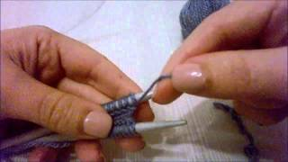 Download ferri circolari: avvio con long tail cast on e lavoro in tondo con il magic loop Video