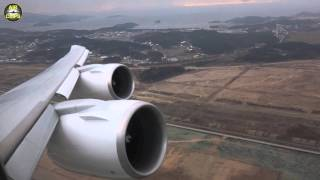 Download Korean Air Boeing 747-8i Seoul Takeoff - FANTASTIC SOUNDS! [AirClips] Video
