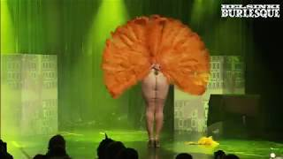 Download Burlesque dancer Angelina Angelic - Firebird act at Helsinki, Finland, 2018 Video