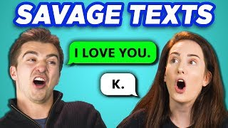 Download COLLEGE KIDS READ 10 SAVAGE TEXTS (REACT) Video