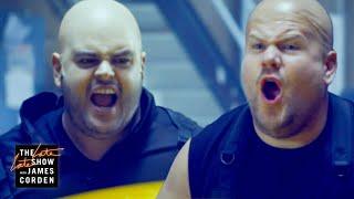 Download Josh Gad & James Corden Were Fired from 'Hobbs & Shaw' Video