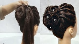 Download Easy Wedding/Party Hairstyles || hair style girl || hairstyles for girls || cute hairstyles 2018 Video