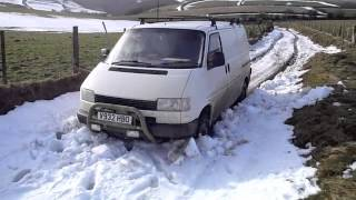 Download vw syncro t4 in exmoor snow Video