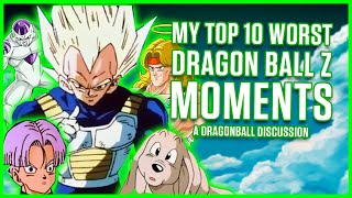 Download 10 WORST MOMENTS IN DRAGON BALL Z | A Dragonball Discussion Video
