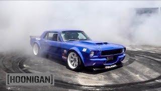 Download [HOONIGAN] DT 085: 8700 RPM '66 Mustang Donuts Video