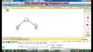 Download Cisco Packet Tracer Tutorial - Connecting 2 PC and 1 router Video
