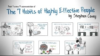 Download THE 7 HABITS OF HIGHLY EFFECTIVE PEOPLE BY STEPHEN COVEY - ANIMATED BOOK REVIEW Video