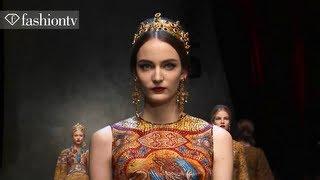 Download Dolce & Gabbana Fall/Winter 2013-14 | Milan Fashion Week MFW | FashionTV Video