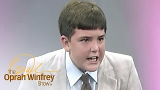 Download Does This Child Preacher Understand the Words He's Yelling? | The Oprah Winfrey Show | OWN Video