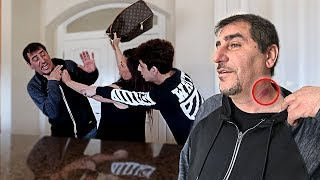 Download MOM CATCHES DAD WITH A HICKEY! *FREAKOUT CAUGHT ON CAMERA* Video